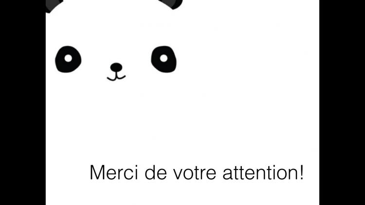在法国读书的时候, 也抽空做了点小生意, 把淘宝买来的东西拍了照片, 放在keynote里面给法国客户介绍, 也赚了不少钱, 当时做了这个模板, 因为黑白的熊猫是我们中国人的自豪之一~ 欢迎大家下载,记得点赞哦!